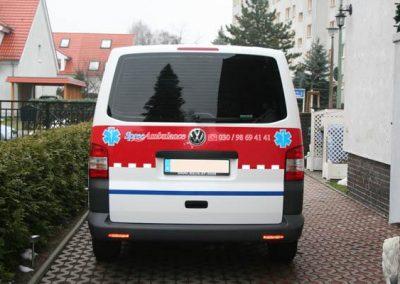 folierung-ambulanz-rot