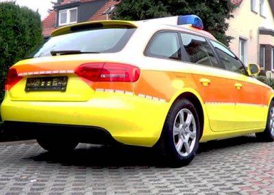 folierung-notarzt-gelb-orange
